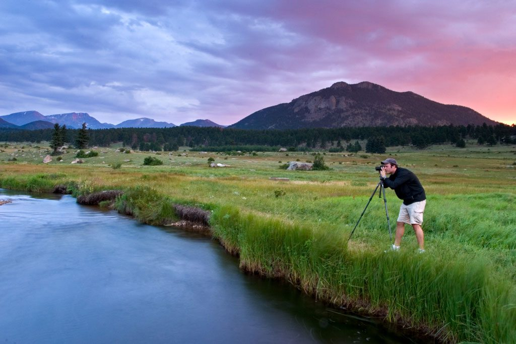 treye-rice-taking-pictures-in-rocky-mountain-national-park